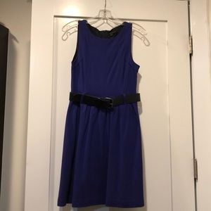 Purple Theory dress with belt